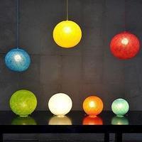 Happy light lampe i str. LARGE Ø35 - Vælg farve
