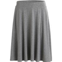 Object Collectors Item Simple Skirt Grey/Dark Grey Melange