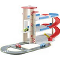 New Classic Toys Parking Garage with Track & 3 Cars 11040