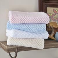 Clair De Lune Honeycomb Baby Blanket