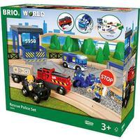 Brio Rescue Police Set 33845