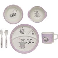Bloomingville Circus Bamboo Kids Serving Set 6pcs