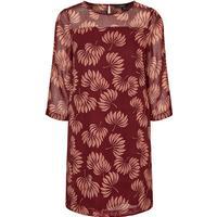 Vero Moda 3/4 Sleeved Dress Purple/Zinfandel
