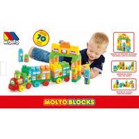 Molto Train Blocks 70pcs 16470