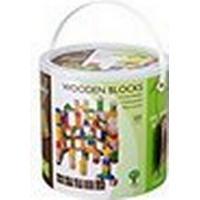 Jouéco Wooden Blocks 100pcs 80019