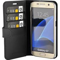 Valenta Booklet Classic Luxe Black Galaxy S7