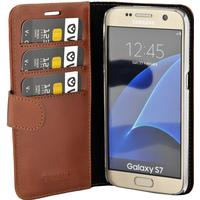 Valenta Booklet Classic Luxe Brown Galaxy S7