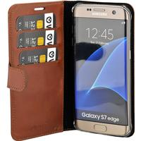 Valenta booklet Classic Luxe Brown Galaxy S7 Edge