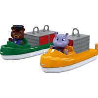 Aquaplay Carrier + Transport Boat + 2 Puppets