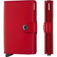 Secrid Mini Wallet - Original Red Red