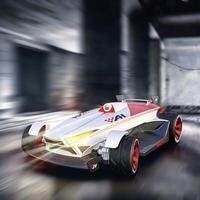 Air Hogs RC Bil nybörjare Elektrisk Gatumodell Air Hogs FPV Master Race CAR FPV-Version