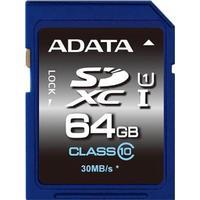 A-Data Adata Premier SDXC Class 10 UHS-I U1 50/10MB/s 64GB