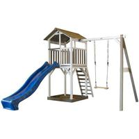 Suntoy Beach Tower with Slide Sandpit & Swing