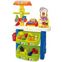 Oliver & Kids Marknadsstånd med Frukt och Mat