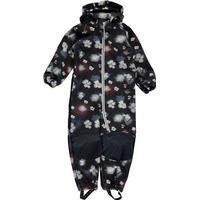 Name It Alfa Flower Printed Softshell Suit - Blue/Sky Captain (13139356)