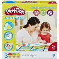 Play-Doh Shape & Learn Numbers & Counting
