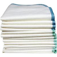 Imsevimse Tvättlappar av Ekologisk Bomull Ocean 12-pack