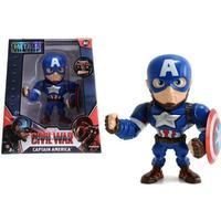 """Jada Metal Die Cast 4"""" Captain America Figure M45"""