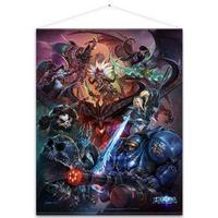 Heroes of the Storm Wallscroll