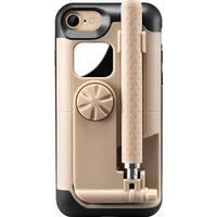 MTP Products Selfie Stick iPhone 7 / iPhone 8 Cover - Guld