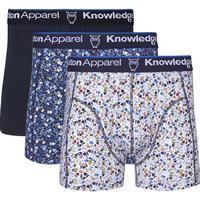 Knowledge Cotton Apparel boxershorts 3-pak CHECK