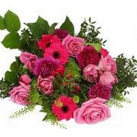 Begravning & kondoleanser Blandade blommor