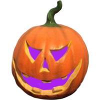 Halloween græskar med farveskift