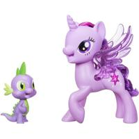 Hasbro My Little Pony Princess Twilight Sparkle Spike the Dragon Friendship Duet C0718