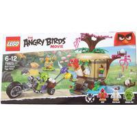 Lego The Angry Birds Movie Bird Island Egg Heist 75823