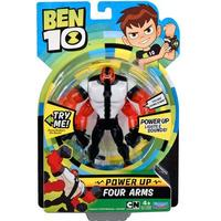 Playmates Toys Ben 10 Deluxe Power Up Four Arms