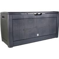 PROSPERPLAST Gartenbox Kissenbox BOXE RATO 310 l anthrazit MBM310