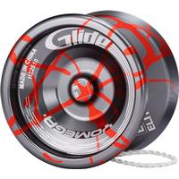Glide - sølv/rød