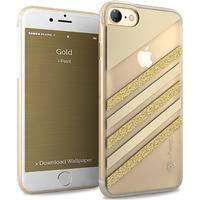 iPhone 7 Glamour Case med guld glimmer fra i-Paint