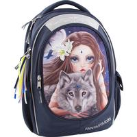 Top Model Fantasy Wolf & Girl - Navy
