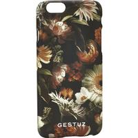 GESTUZ MOBILCOVER M (Multi Black Flower 90322, 6 PLUS)