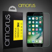 iPhone 8 Plus/7 Plus - AMORUS hærdet panserglas med Arc Edge