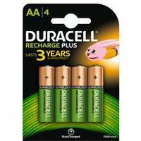 Duracell Rechargable Plus AA (4Pcs)