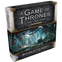 Fantasy Flight Games A Game of Thrones: The Card Game (Second Edition): Wolves of the North (Engelska)