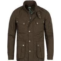 Barbour International Ariel Quilted Jacket Olive