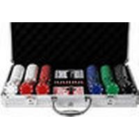 Pokerset med 300 spelmarker 11,5 gram - suit design