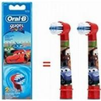 Oral-B EB-10 Replacement Heads For Toothbrush Extra Soft for kids, Number of brush heads included 2