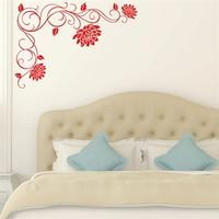 NiceWall Decoration with Lotus Flowers