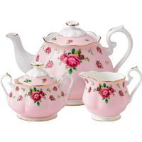Royal Albert New Country Roses Pink Tea Set 3 stk
