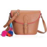 LYDC 'Anna Smith' Tan Saddle Bag