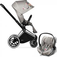 Cybex Priam with Lux Seat Koi 2 in 1 (Travel system)