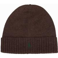 Polo Ralph Lauren Fold-Over Hat Mössor Dark Brown