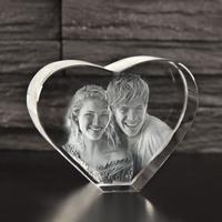 Glashjerte opretstående - 8 cm