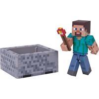Jazwares Minecraft Steve with Minecart Pack