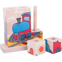 Bigjigs Stacking Blocks Transport