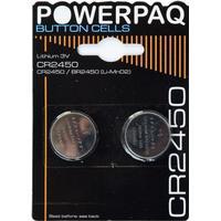 Batterier 2 stk. Lithium CR2450 3V